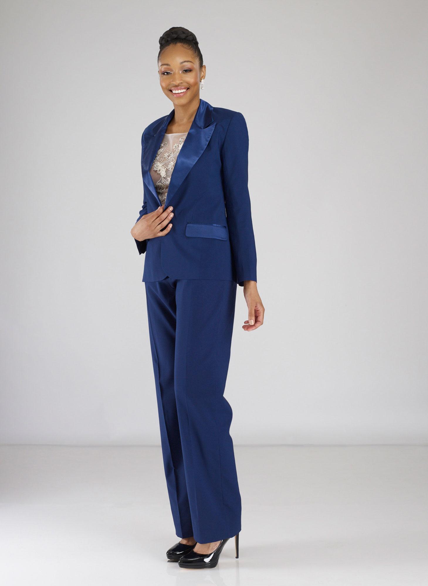 women's tuxedo