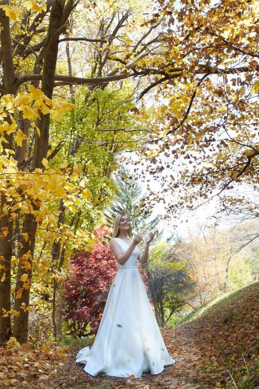 mikado a-line wedding gown robert bullock
