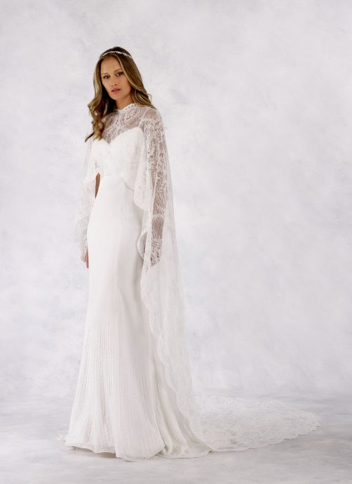 Bre with Lace Cape B16