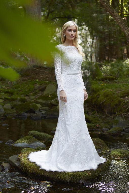 lace wedding gown dress robert bullock