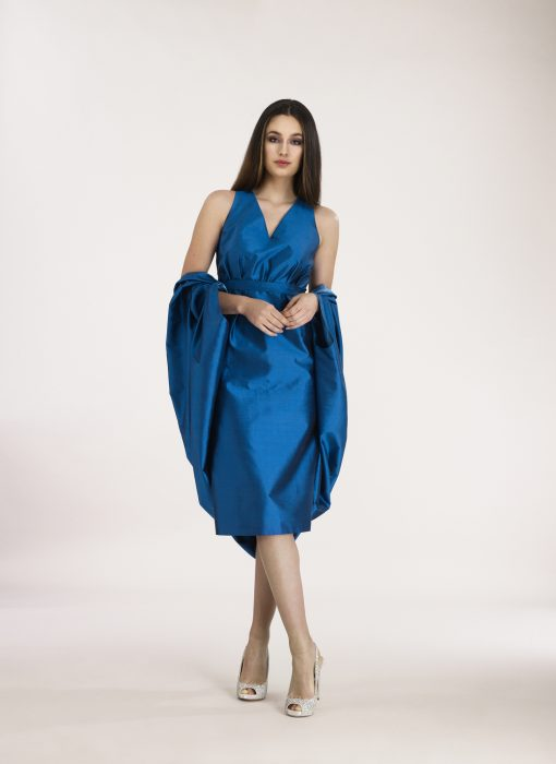 Carmen Dress with Cape