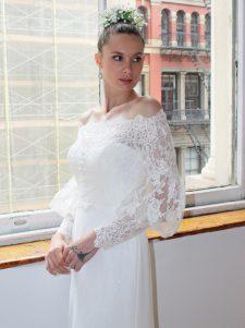 lace wedding jacket accessory