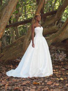 robert bullock wedding gown strapless
