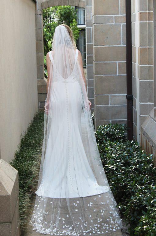 low back crepe wedding gown robert bullock