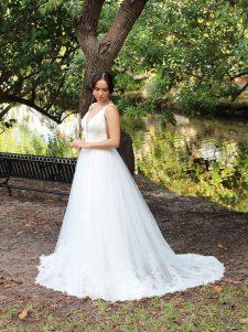 full wedding gown