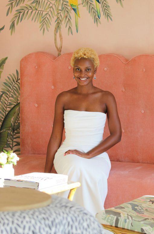 strapless ruched wedding dress robert bullock